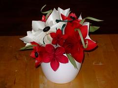 Kusudama Flowers (ebygomm) Tags: flower paper origami bouquet papercraft kusudama