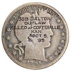 Bob Dalton Outlaw counterstamp