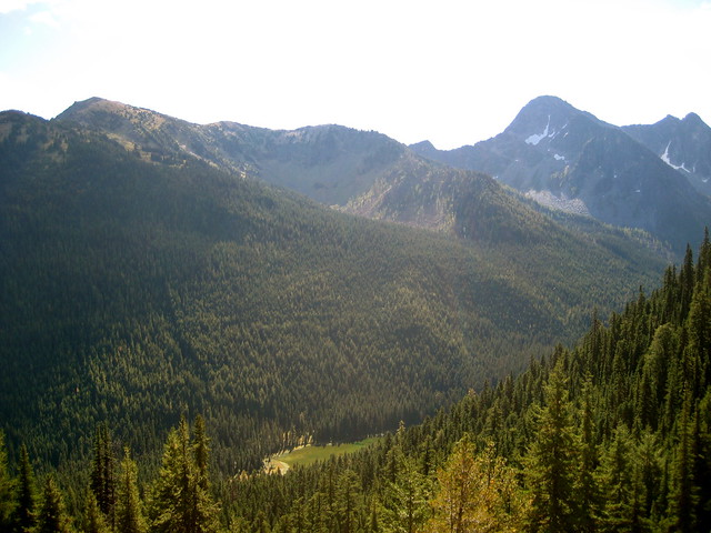Trout Lake from Jack Ridge