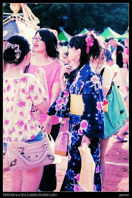 FA35/2 首次出擊 - 天母日僑學校:夏祭り