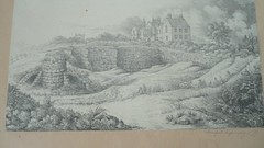 Stamford Infirmary circa 1840 -pencil drawing