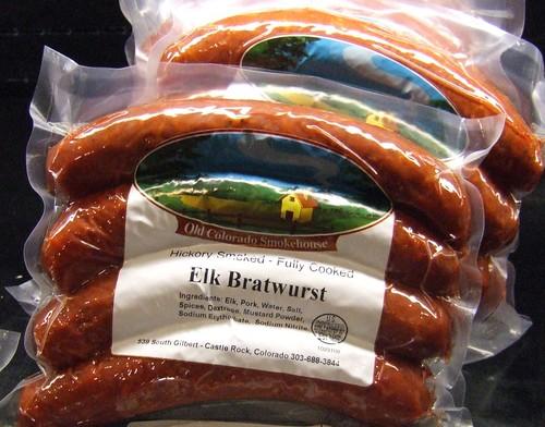 Local Elk Bratwurst