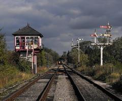 Old railway line at Hammersmith Station, Derbyshire (shotlandka) Tags: england finepix fujifilm swanwick англия s1000fd 100commentgroup doublyniceshot mygearandmepremium mygearandmebronze mygearandmesilver mygearandmegold