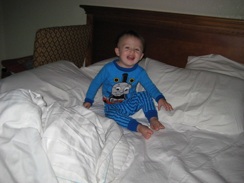 Henry in Hotel in NC
