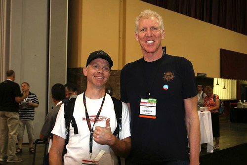 Interbike 2010 - Hurl with Bill Walton