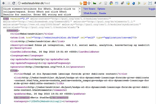 Chrome XML Tree Transformation