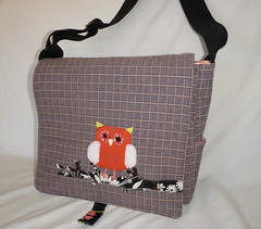 Messenger bag, owl