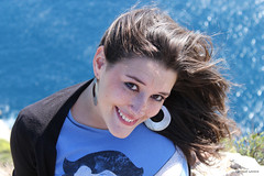 Javea (Enrique Gandia) Tags: espaa sexy beach valencia canon spain chica modelo alicante bonita guapa paraiso cala beautifull javea 500d davinia revert canonistas enriquegandia