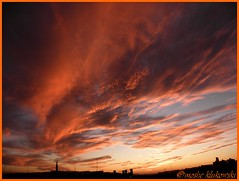 Sunset - Jerusalem -  -  (moshek70) Tags: sunset sky weather clouds israel jerusalem      olympussp590