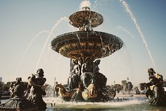 paris (pearled) Tags: fountain waterfountain arcdetriomphe paris france french