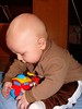 Duncan w/stolen toy