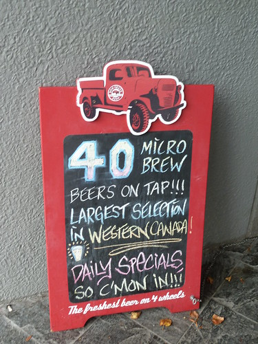 40 Microbrews on tap!!!!!