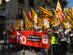 General Strike in Spain, Vilanova i la Geltru, Catalonia 006