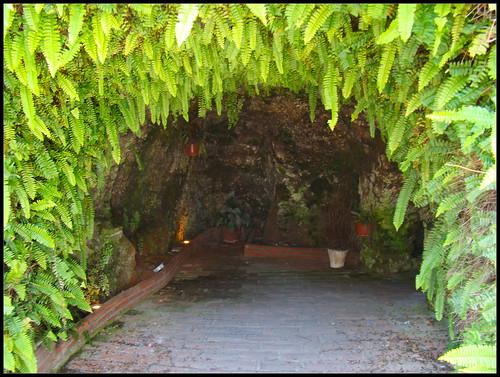 Interior cuevas de Mijas