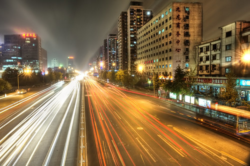 Some Beijing Street by Tony Shi., on Flickr