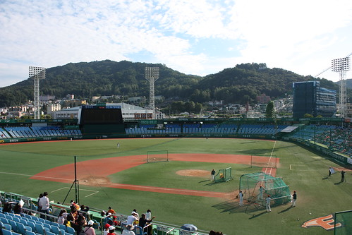Daejeon Baseball Stadium Hanwha Eagles