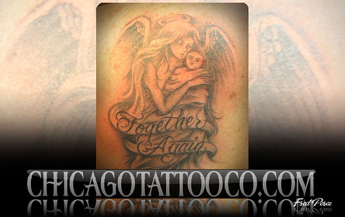 angel baby tattoos. Angel Baby Tattoo