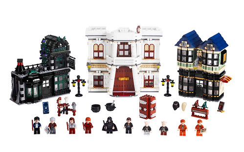 LEGO Harry Potter - 10217 Diagon Alley - Production