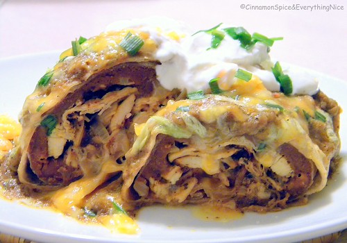 Chi-Chi's Chicken Chimichangas with Mexi-sauce