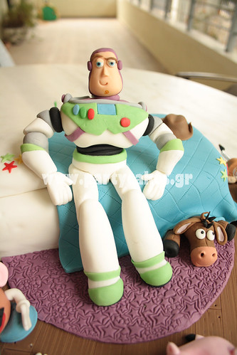 Toy Story Cake for a Buzz Lightyear fan