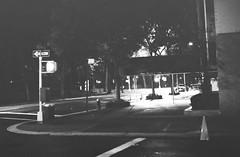 Roll 3 Frame 26 (Arbitrary Moniker) Tags: street nyc newyorkcity bw newyork slr film night 35mm iso3200 50mm nikon 1600 neopan f2 135 pushed 3200 neopan1600 nikonf pushprocessed fujineopan1600 fujineopan 1stop 2