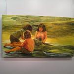 At a painting exhibit / En una exposición de pintura thumbnail