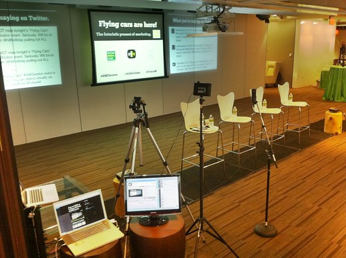 Ustream Broadcast Setup for #SMCBoston #FutureM
