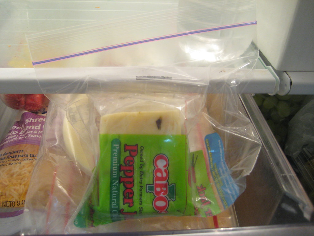 Refrigerated Bag of Cheese