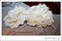 Wedding Hair Accessories (amiefedora) Tags: wedding white flower detail hair photographer girly feather fake run clip petal faux accessories bridal piece rhinestone trial gem barrette frilly barette