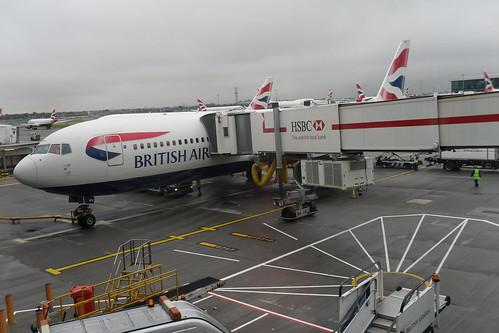 Unser Flieger nach London