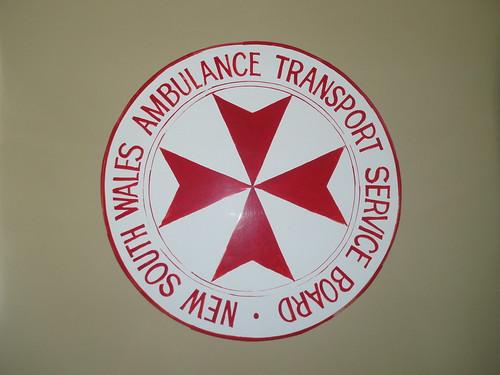 New South Wales Ambulance Transport Service Board emblem
