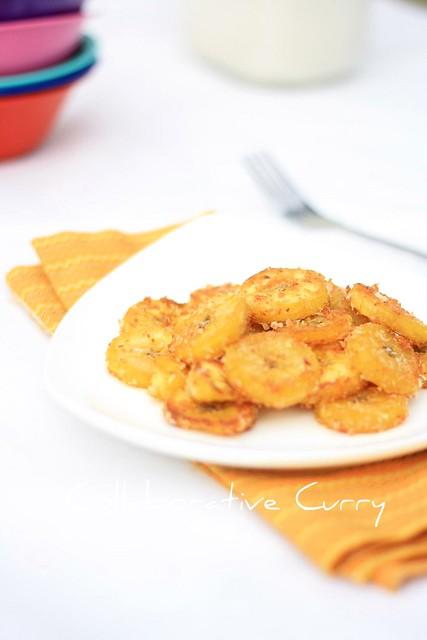 Ripe Banana Fry