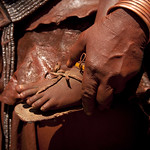Himba mother and son - Angola
