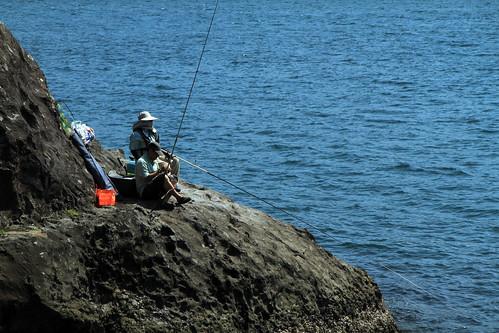 Awelitos peskando Shimoda