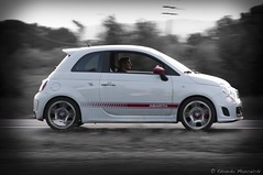 Abarth 500 esseesse (Car-Shooters) Tags: macro car fast automotive sp 200 di if tele pan 28 af 500 tamron panning 70 70200 f28 ld abarth scorpione poggio caiano esseesse essesse