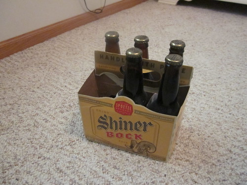 Finished six pack