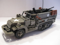 """The Chukker"" M21 81mm MMC (""Rumrunner"") Tags: lego wwii american ww2 m3 mmc worldwar2 halftrack allies rumrunner m21"