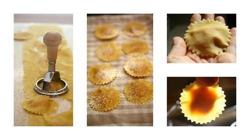 Ravioli di zucca (pumpkin ravioli)
