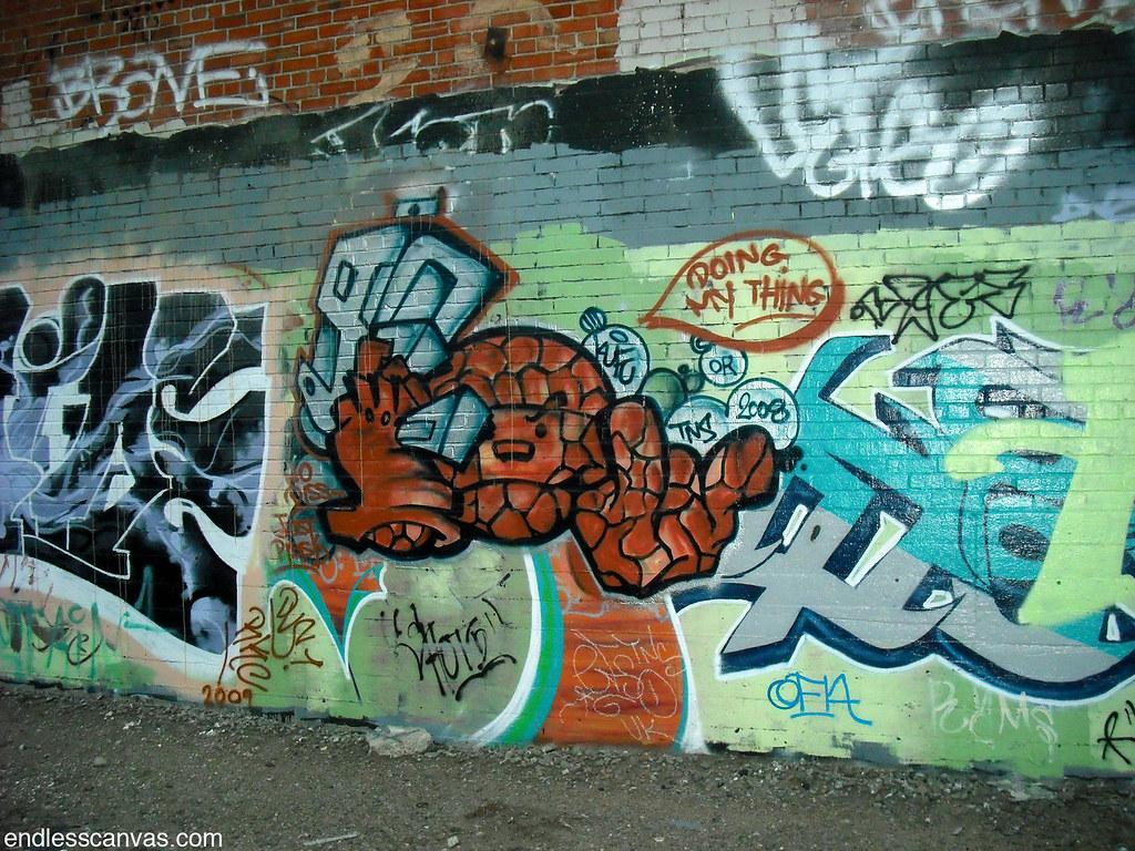KUFU graffiti - Oakland, Ca