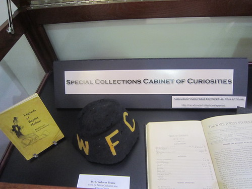 Special Collections Cabinet of Curiosities
