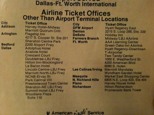 AAirlink-Locations-DFW-Circa-1990
