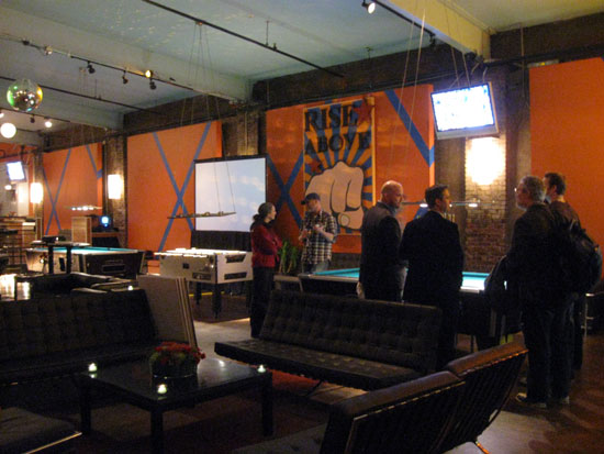 Lounge Area of North Bowl
