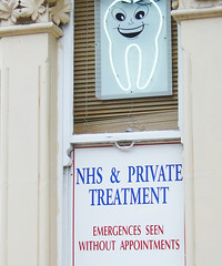 emergences (JudyGr) Tags: london sign tooth neon east fav dentist londonist dsc06300 emergencesseenwithoutappointment