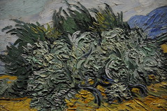 Wheat Field with Cypresses - Vincent van Gogh 1889 (ARTExplorer) Tags: nyc usa ny newyork art field museum america us artwork museu arte unitedstates manhattan kunst wheat unitedstatesofamerica vincent arts muse konst muse eua museo artmuseum artes cypresses vangogh museumoffinearts metropolitanmuseum muzeum 1889 2010 estadosunidos cityofnewyork metmuseum