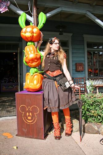 steampunk Halloween lolita