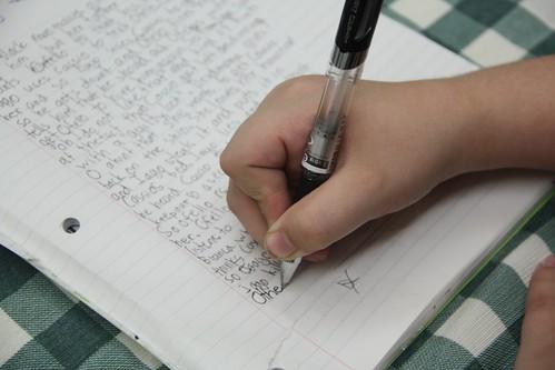 writing for homeschool