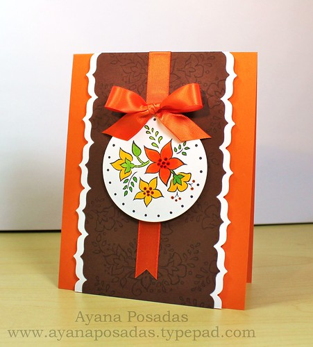 Autumn Card w Pumpkin Bread (5)
