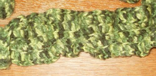 Greens Ruffle Scarf 1