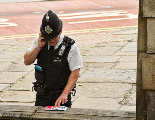 Out of Town Police Officer in Liverpool - Lern Yerself Scouse