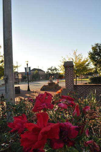 Swainsboro, Patriot Square - Autumn Decorations